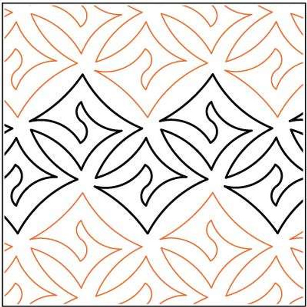 """Dazzle-10"""" by Lorien Quilting"""