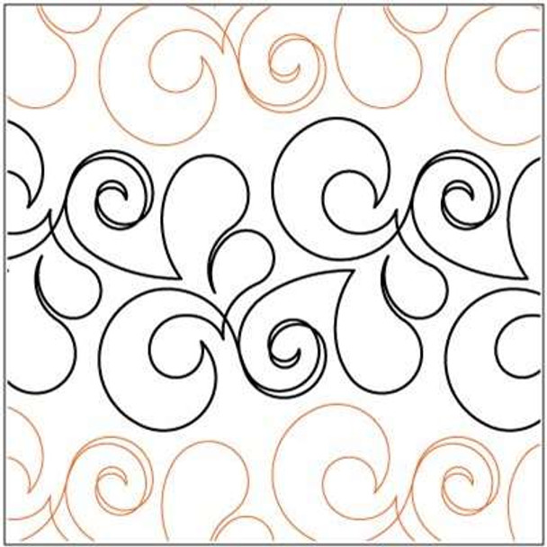 """Exquisite-6.5"""" by Lorien Quilting"""