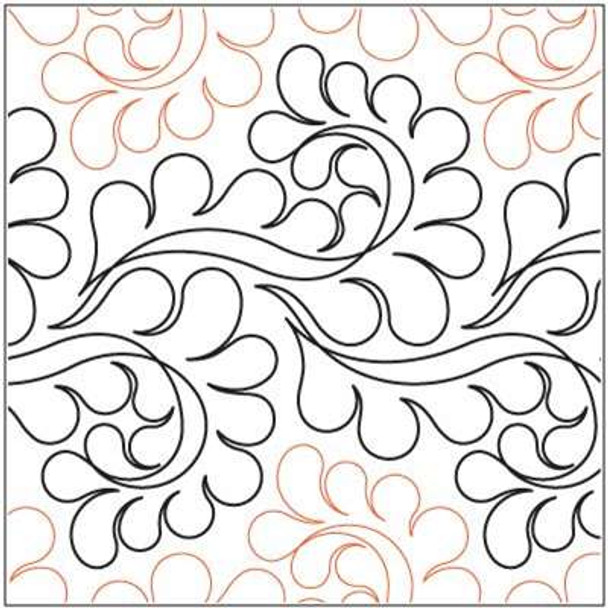 """Flounce-12"""" by Lorien Quilting"""
