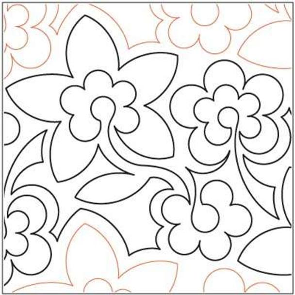 """Flowerumpus-12.5"""" by Lorien Quilting"""