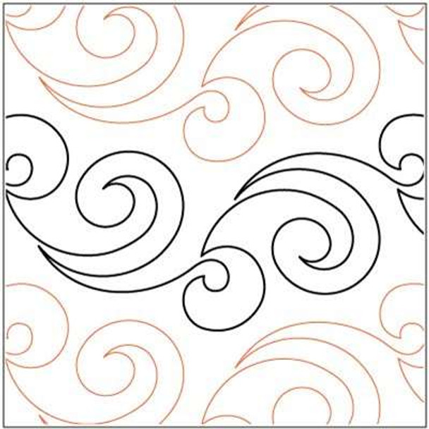 """Zephyr-6.25"""" by Lorien Quilting"""