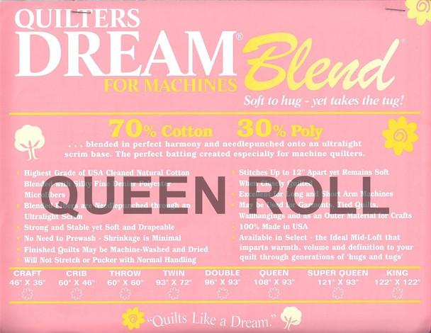 """Dream Blend - Queen Roll - 93"""" x 30yds"""