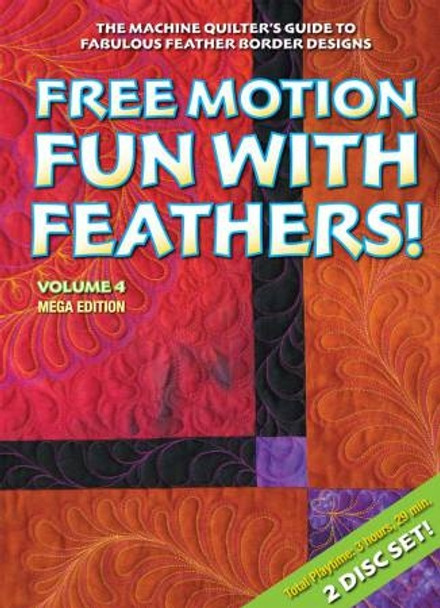 Free Motion Fun /w Feathers-Vol 4-by Patsy Thompson