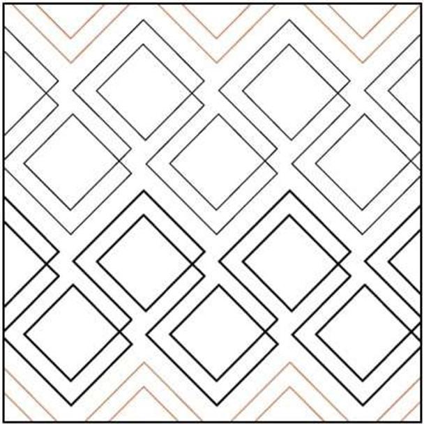 "Diagonal Plaid-7.25"" by Urban Elementz"