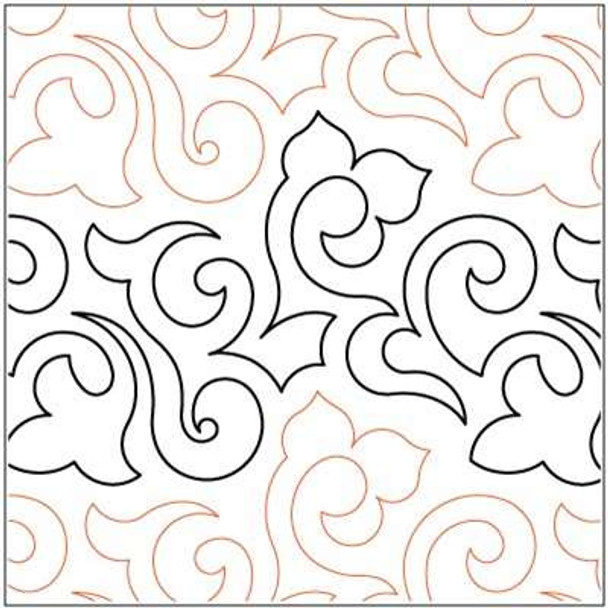 """Lorien's Paisley-9"""" by Lorien Quilting"""