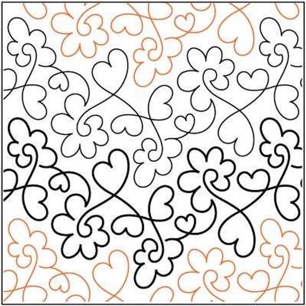 "Sweet Hearts-9.75"" by Urban Elementz"