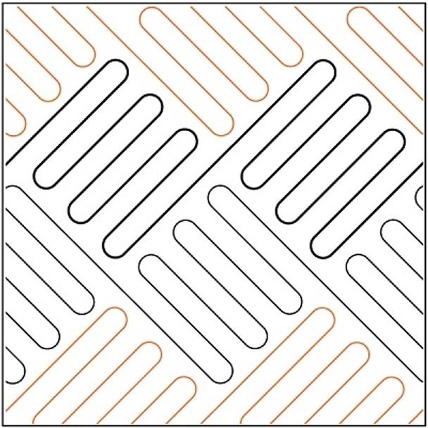 "Square Fold-Diagonal-4.75"" by R&S Designs"