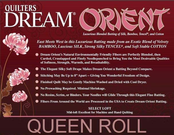 """Dream Orient - Queen Roll (93"""" x 30yds)"""