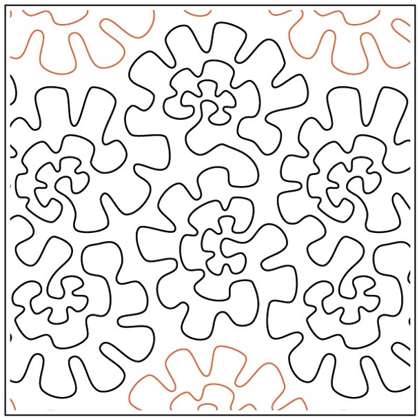 "Marigold Mambo-12"" by Apricot Moon Designs"