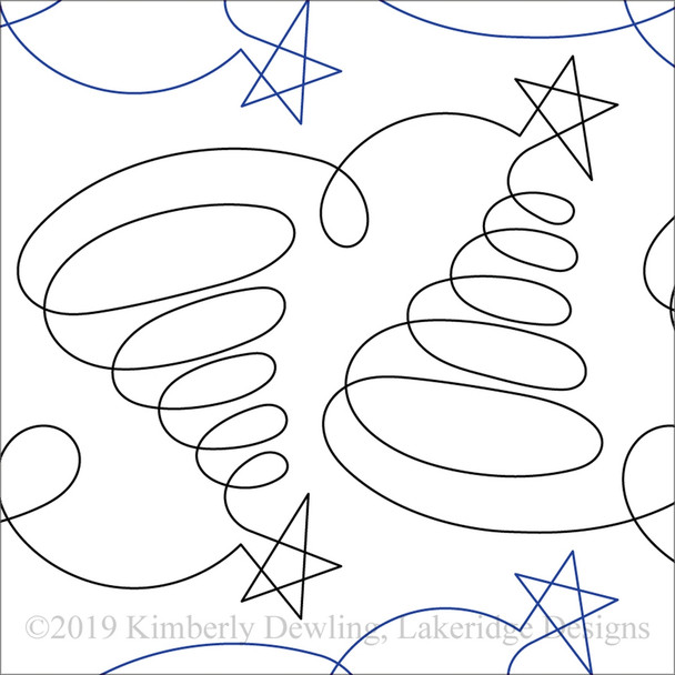 "Tree Doodles-10"" by Lakeridge Designs"