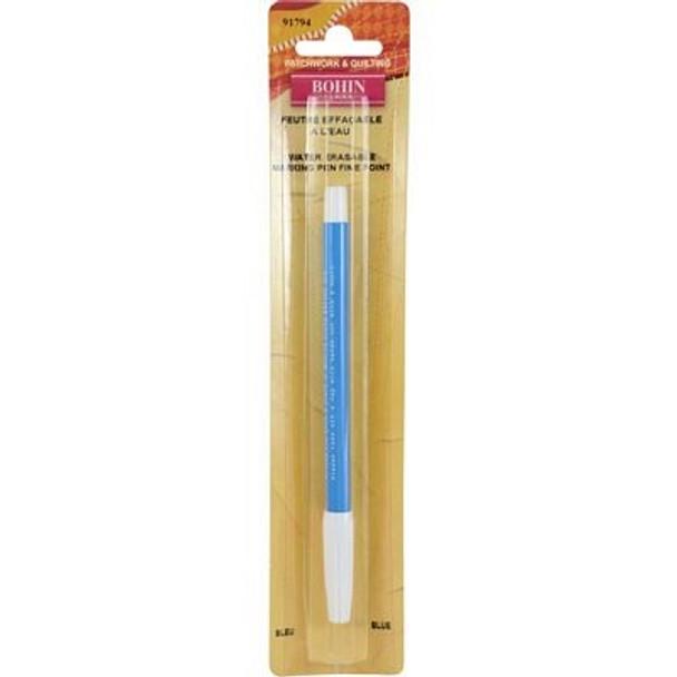 Water Erase Blue Marker