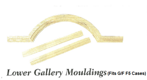 Lower Gallery Mouldings - (LGM) OUT OF STOCK IN CHERRY