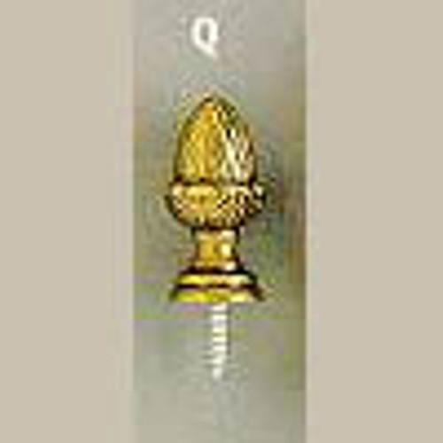 Brass Finials- D