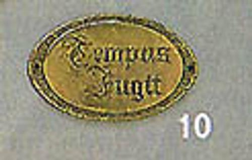 Ornament- Tempus Fugit Plate