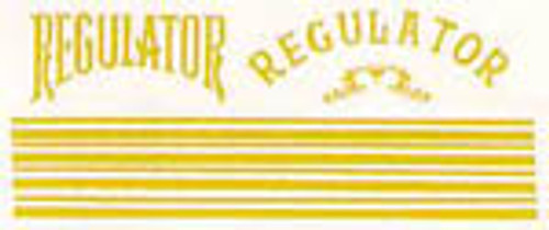 Regulator Decals