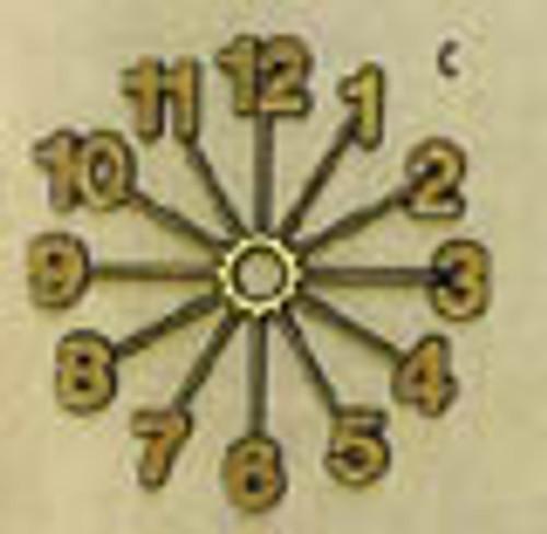 Sunburst Number Ring