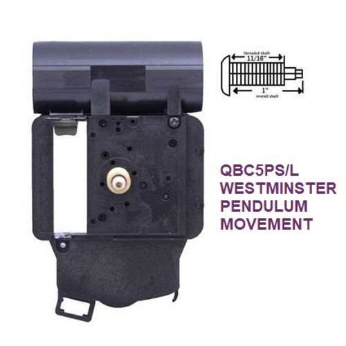 Chiming Quartz Battery Movement 1 (QBC5PS/L)