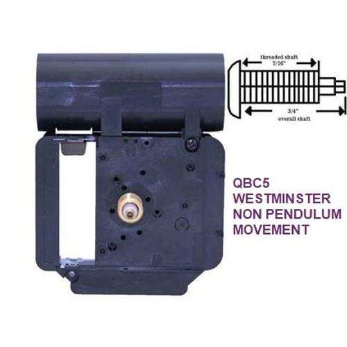 Chiming Quartz Battery Movement 2 (QBC5)