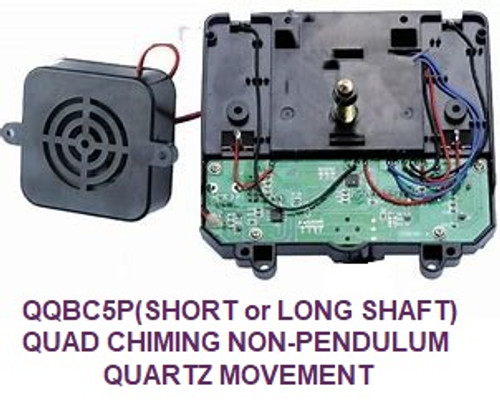 Quadraphonic Non Pendulum Battery Chime Movement (QQBC5)