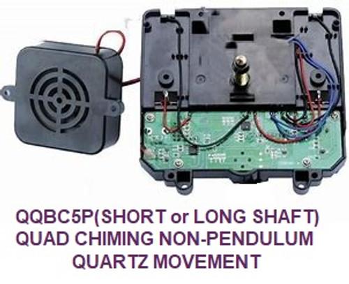 Quadraphonic Non Pendulum Battery Chime Movement (QQBC5)