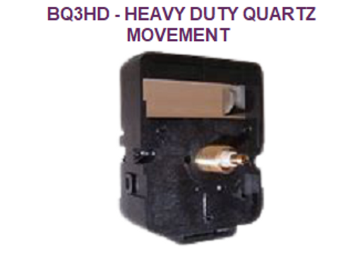 Heavy Duty Quartz Battery Movement (BQ3HD)