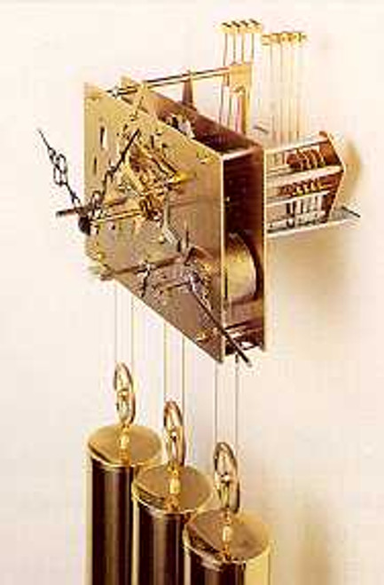 Hermle Single Chime - Grandfather Cable Movement (HC3)