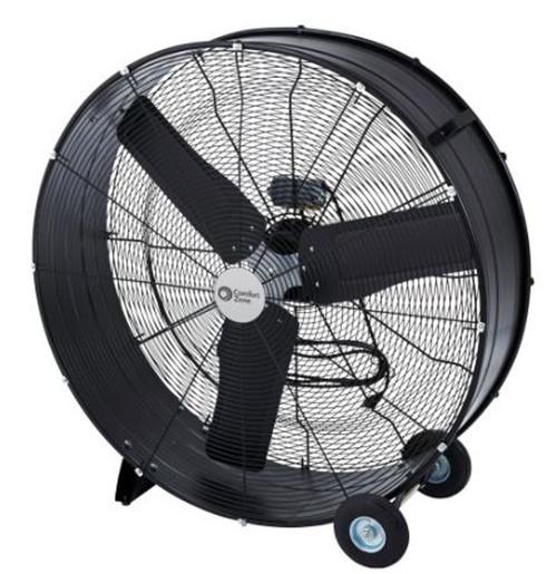 """Comfort Zone 36"""" Barrel Direct Drive Fan"""