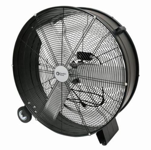 """Comfort Zone 30"""" Barrel Direct Drive Fan"""