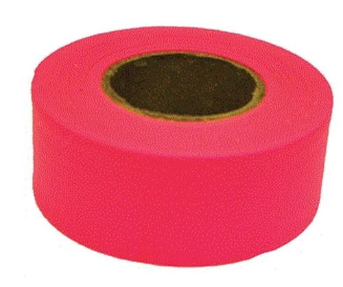 Orgill Flag Tape Pink 1-3/16 IN X 150 FT