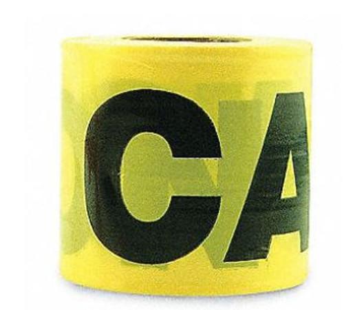 Orgill Tape Caution Barricade 2M 3 IN x 300 FT