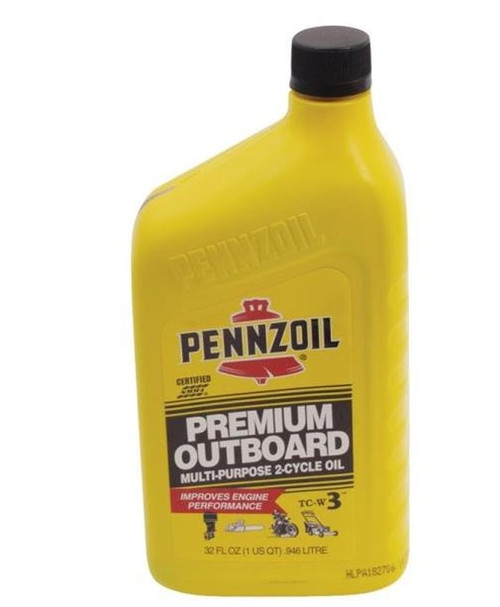 Pennzoil 2-Cycle Multi-Purpose Outboard Motor Oil - 1 Qt.