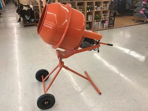 Focus on Tools  5.0 Cubic Feet Cement Mixer