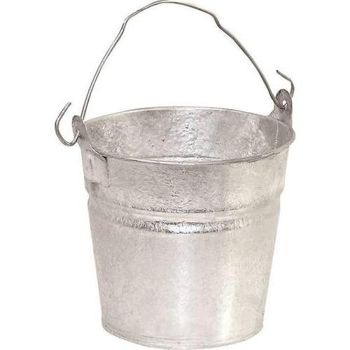 Behren's Hot Dip Galvanized Steel 2 Quart Water Bucket