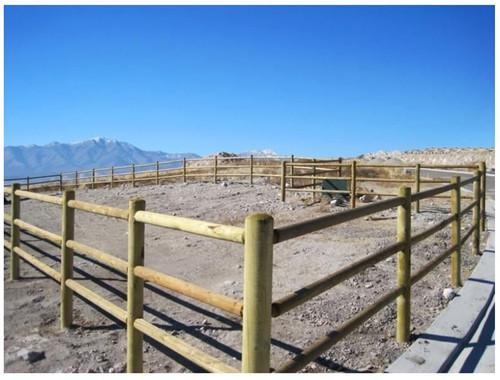 Western Wood Tenon Rail Wood Nominal