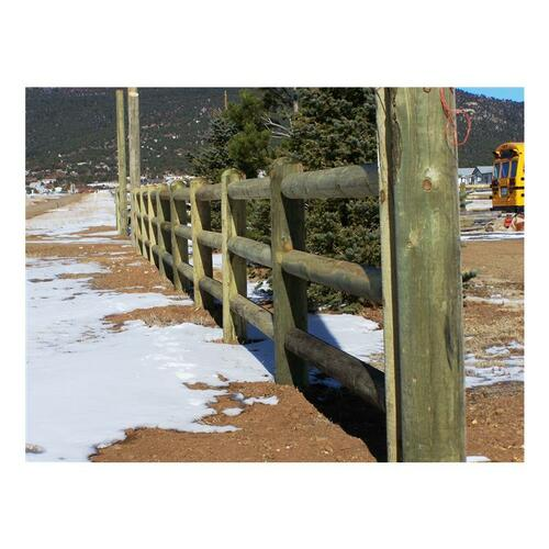 "Western Wood 3RL End Post 6"" X 6 1/2' Nominal"