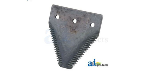 A&I Products 231-271-C 3 Hole 11 Gauge Big Tooth Top Serrated Black Sickle Section