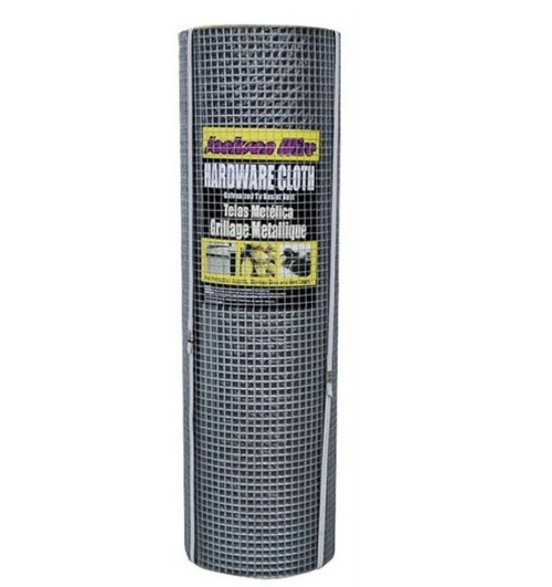 Jackson Wire 11033813 Hardware Cloth - 1/2 X 1/2 In Mesh, 36 In
