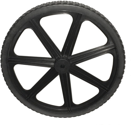 Rubbermaid Replacement Wheel For Big Wheel Cart