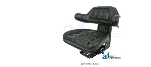 AI Products - W333BL Wrap Around Back With Arms Seat