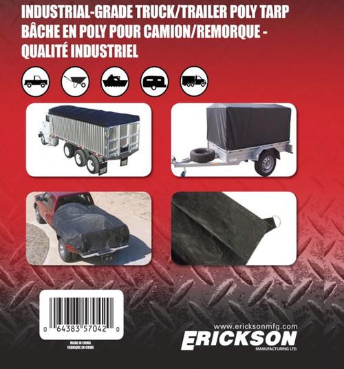 Erickson Mfg. 10' x 20' Industrial Fitted Tarp