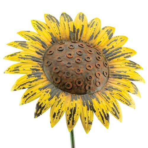 Regal Art & Gift Giant Rustic Sunflower Stake