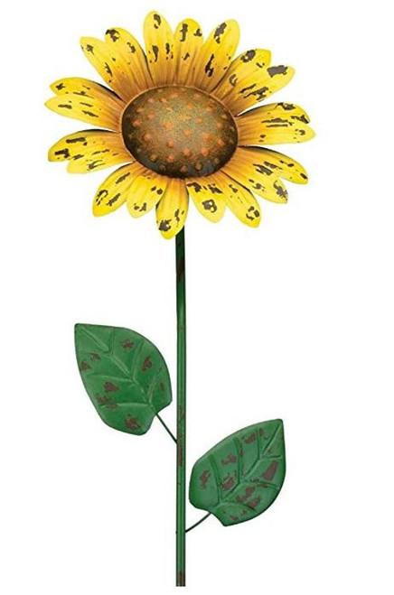 Regal Art & Gift Rustic Sunflower Stake