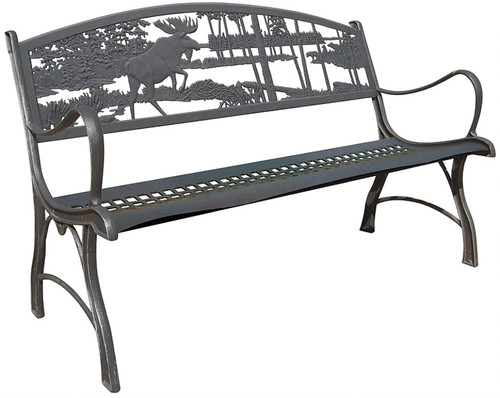 Painted Sky - Moose Iron Bench