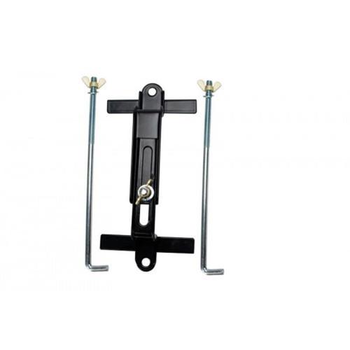 Uriah Hold Down Batt Adjust 7 inch to 8-3 4 inch W  8 inch Long Bolt