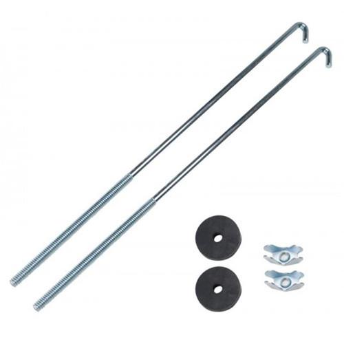 Uriah Hold Down Battery JBolt Kit (2) 12 inch Long