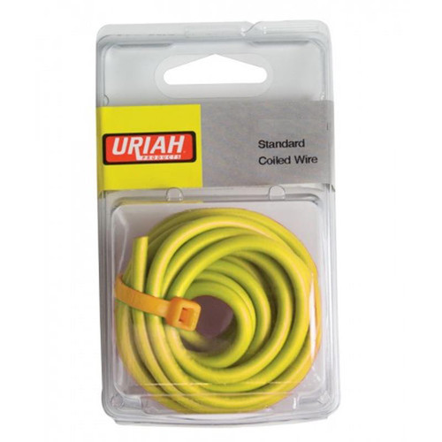 Uriah  Wire 16 Awg  Stranded Yellow (30')