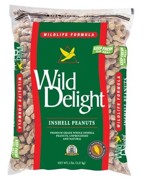 WILD DELIGHT INSHELLED PEANUTS 5 LB