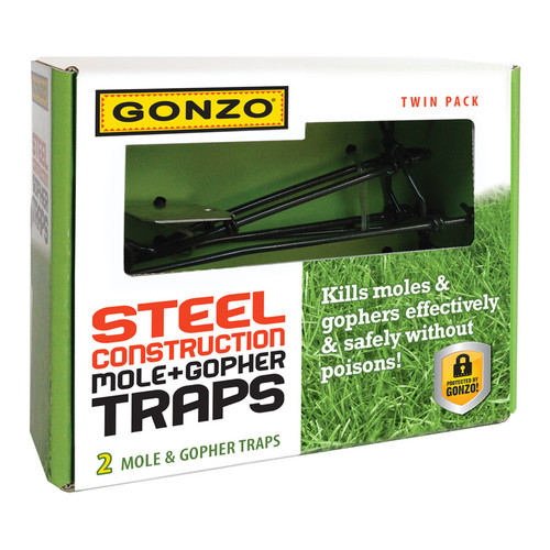 Gonzo Wire Gopher Trap - 2 Pack