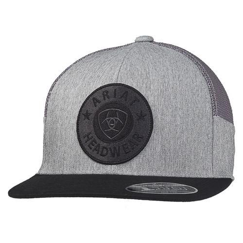 Ariat Mens FlexFit 110 Grey Mens Ball Cap