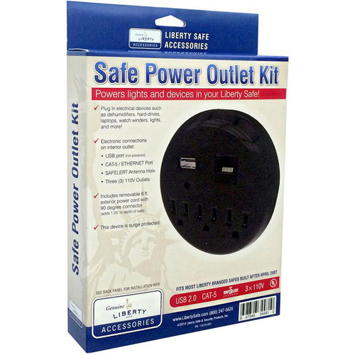 Liberty Safe - Power Outlet Kit